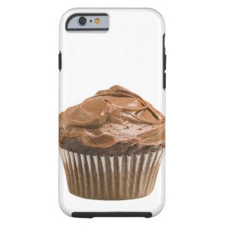 Cupcake with chocolate icing, studio shot tough iPhone 6 case