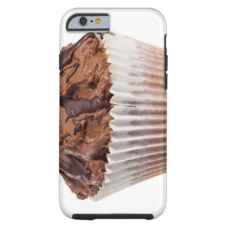 Cupcake with chocolate icing tough iPhone 6 case