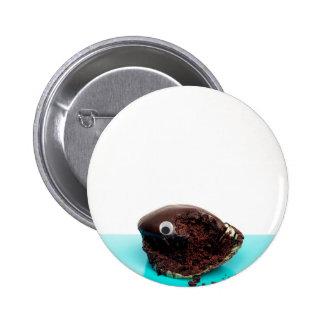 CupCake with googly-eye Button