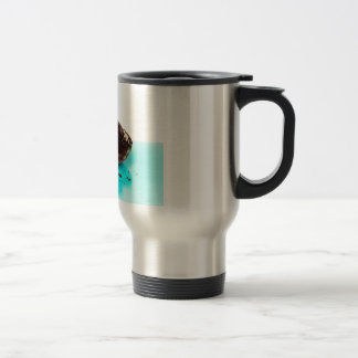 CupCake with googly-eye Travel Mug