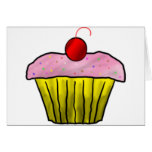 Cupcake with Sprinkles Cards