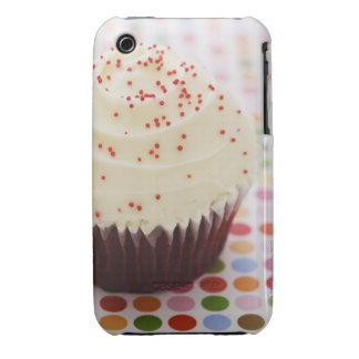 Cupcake with sprinkles iPhone 3 case