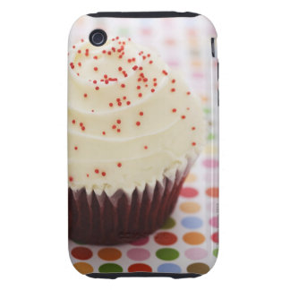 Cupcake with sprinkles iPhone 3 tough cover