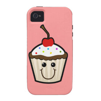 Cupcake with sprinkles vibe iPhone 4 covers