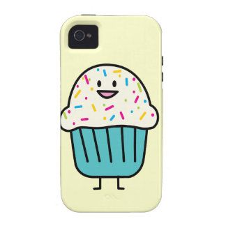 Cupcake with Sprinkles cell case Iphone 4 Case-Mate iPhone 4 Cover