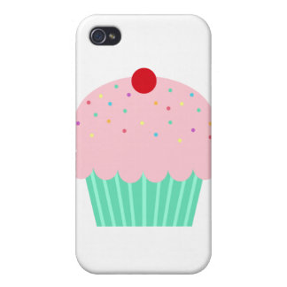 Cupcake with Sprinkles iPhone 4/4S Cases