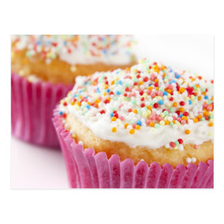 Cupcake with Sprinkles Postcard