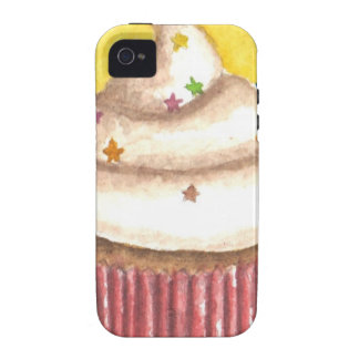 Cupcake with Star Sprinkles Vibe iPhone 4 Case