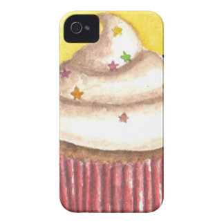 Cupcake with Star Sprinkles iPhone 4 Cases