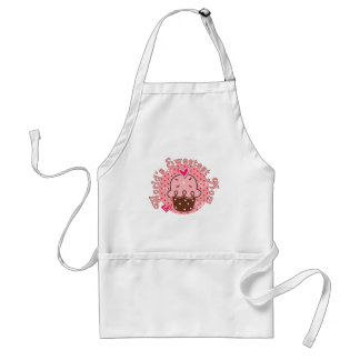 Cupcake World's Sweetest Mom Tshirts and Gifts Adult Apron