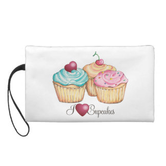 Cupcake Wristlet purse