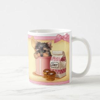 Cupcake Yorkie Coffee Mug
