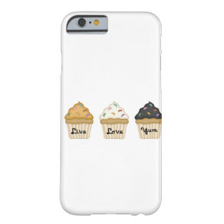 Cupcake Yum Barely There iPhone 6 Case