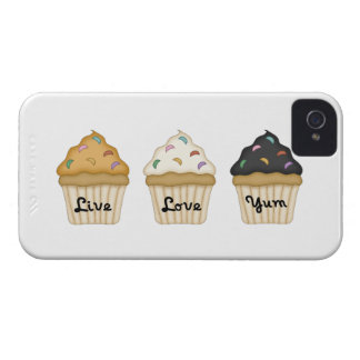 Cupcake Yum iPhone 4 Covers