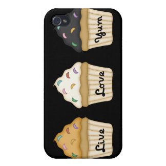 Cupcake Yum Cover For iPhone 4
