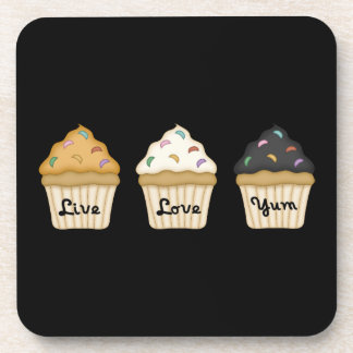 Cupcake Yum Drink Coaster