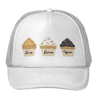 Cupcake Yum Hats
