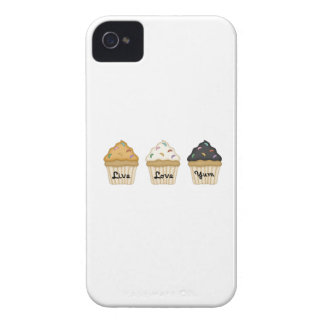 Cupcake Yum iPhone 4 Case-Mate Case