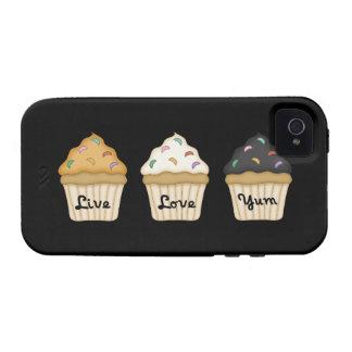 Cupcake Yum iPhone 4 Cover