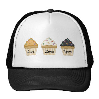 Cupcake Yum Mesh Hat