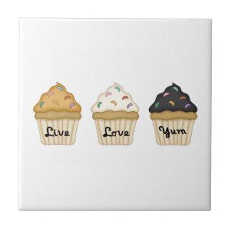 Cupcake Yum Tiles