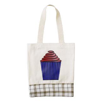Cupcake Zazzle HEART Tote Bag