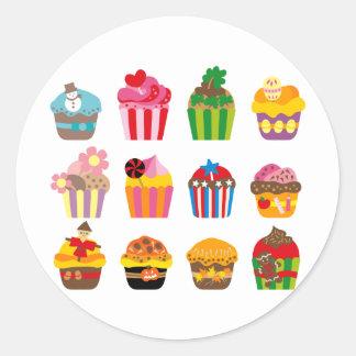 cupcakeALL Classic Round Sticker