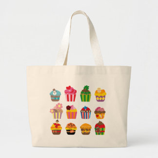 cupcakeALL Large Tote Bag