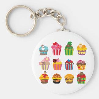 cupcakeALL Llavero Redondo Tipo Pin