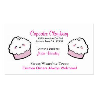 Cupcakes-1, Cupcakes-2, magdalena Claykery, 4575… Tarjetas De Visita