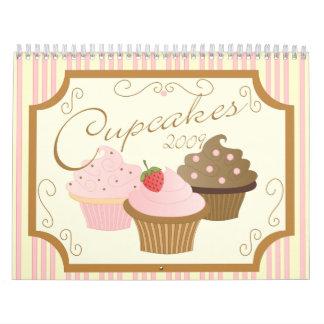 Cupcakes 2009 calendars