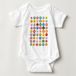 Cupcakes All Baby Bodysuit