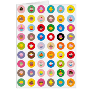 Cupcakes All Greeting Card