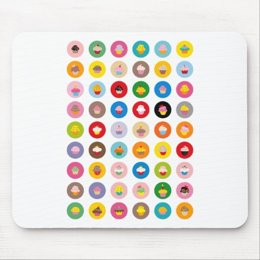Cupcakes All Mouse Mats
