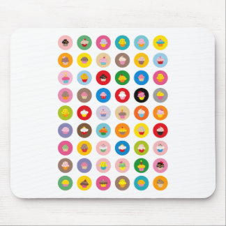 Cupcakes All Mouse Pad