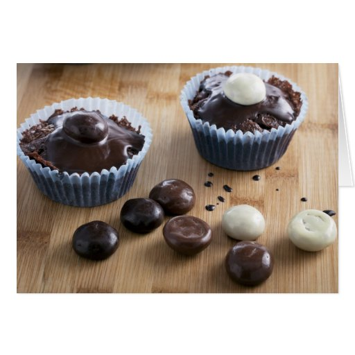 Cupcakes and Candies Greeting Card