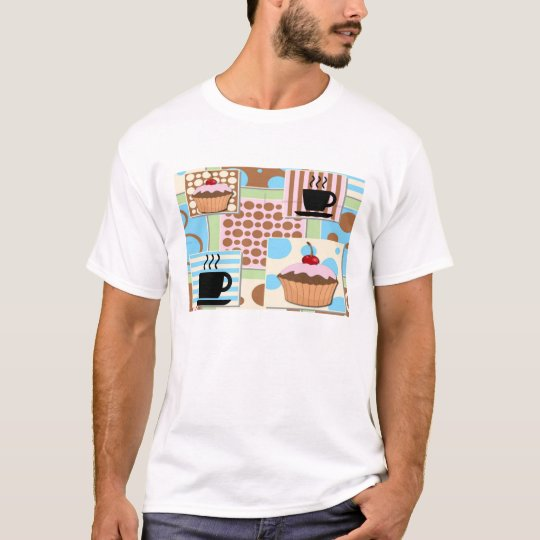 Cupcakes and Coffee T-Shirt