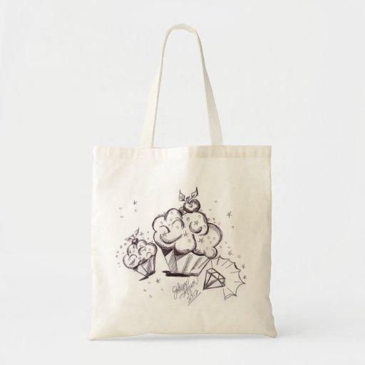Cupcakes and Diamond Bag