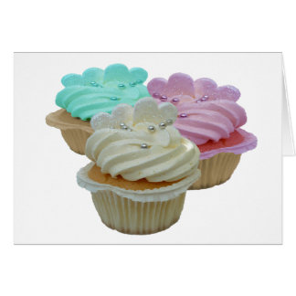 Cupcakes and Hearts Card