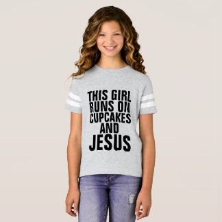 CUPCAKES AND JESUS Christian T-shirts