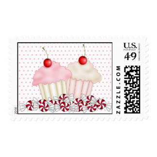 Cupcakes and Peppermints Stamps