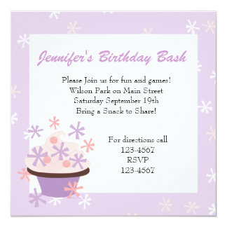 Cupcakes and Stars Card