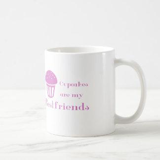 Cupcakes are my bestfriends coffee mug