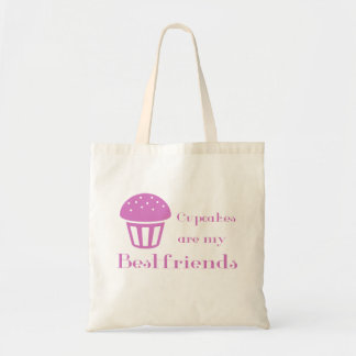 Cupcakes are my bestfriends tote bag