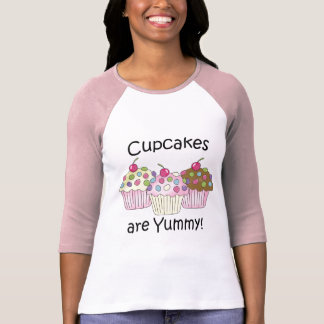 Cupcakes Are Yummy T-shirts and Gifts