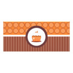Cupcakes Bakery Boutique Style Gift Certificates Rack Cards