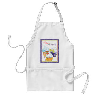 Cupcakes Bakery Chef Personalized Name Adult Apron