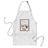 Cupcakes Bakery Chef Personalized Name Aprons apron