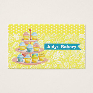 Cupcakes Bakery Pastry Shop Business Business Card