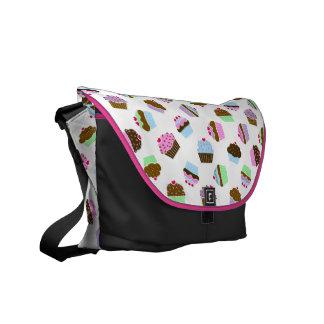 Cupcakes Bonanza Rickshaw Messenger Bag